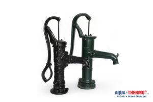 Ruční čerpadlo, dekorativní pumpa