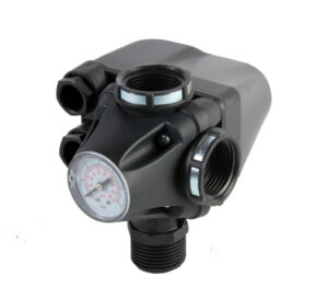 PM53W vodárenský set tlakový spínač s manometrem